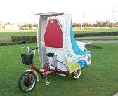 Tato, el triciclo eléctrico para los cartoneros de una ciudad de la provincia de Buenos Aires