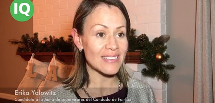 Erika Yalowitz: Por primera vez una Hispana podría formar parte de la junta de supervisores del condado de Fairfax en Virginia
