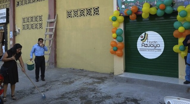 Cooperativa financia proyectos sociales en ecuador iq latino for Jardin azuayo